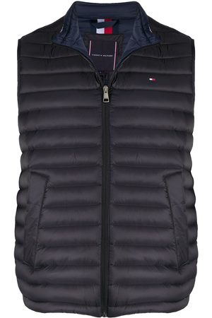 Tommy Hilfiger Heren Bodywarmers - Padded zip-up gilet