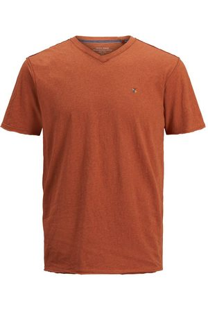 Jack & Jones Heren T-shirts - V-hals T-shirt Heren Oranje