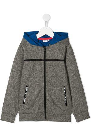 HUGO BOSS Contrast hooded jacket
