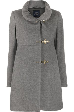 FAY Dames Donsjassen - High neck duffle coat