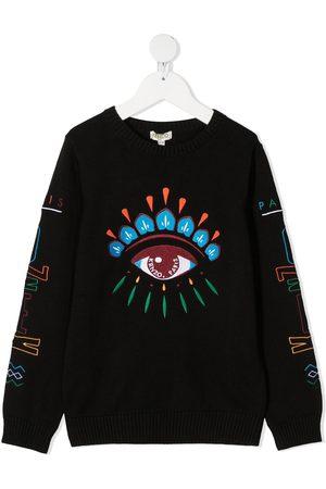 Kenzo Eye embroidered logo sweatshirt