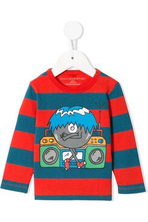 Stella McCartney Music Monster striped T-shirt