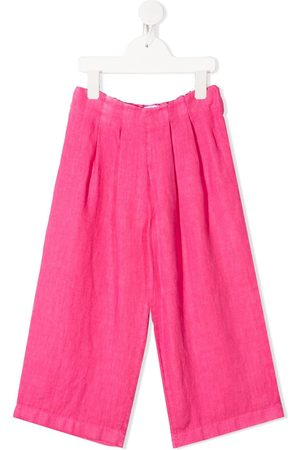 SIOLA Cropped wide-leg trousers