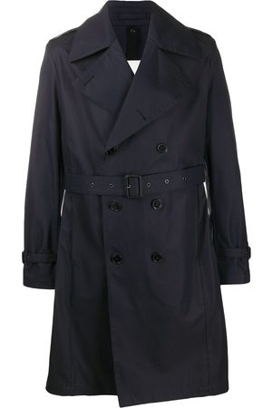 MACKINTOSH Double-breasted belted trench coat