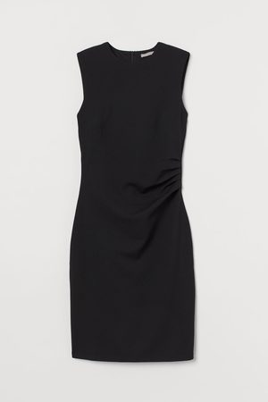 H&M Dames Mouwloze jurken - Nauwsluitende tricot jurk