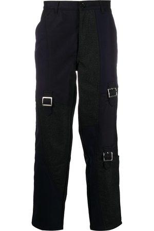 Comme des Garçons Patchwork wool trousers