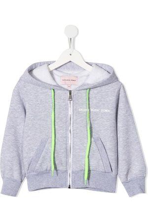 Natasha Zinko Skoro Budu Doma crop hoodie