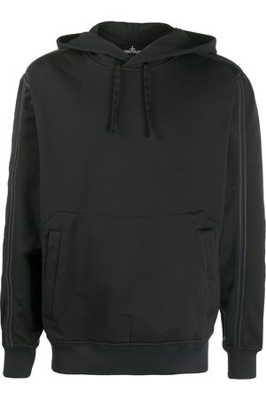 STONE ISLAND SHADOW PROJECT Contrast-trim hooded sweatshirt