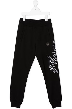 Philipp Plein Hexagon logo track trousers