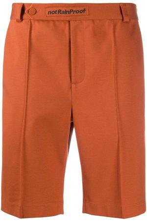 Styland Straight-leg organic cotton shorts
