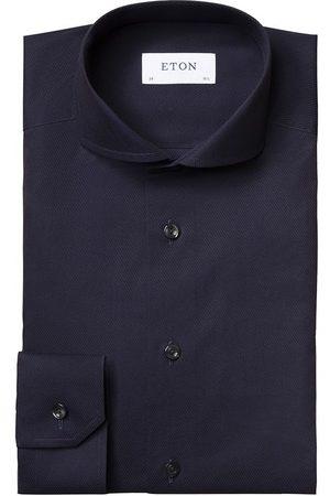Eton Heren Overhemden - Overhemd navy