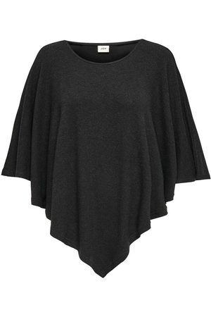 Only Jersey Poncho Dames Grijs