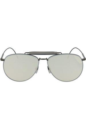 Thom Browne Glasses Tb-015-Ltd-Blk-Gry-62 Ltd-Blk-Gry