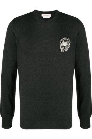 Alexander McQueen Patch-detail jumper