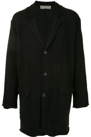 YOHJI YAMAMOTO Notche-lapel knitted jacket
