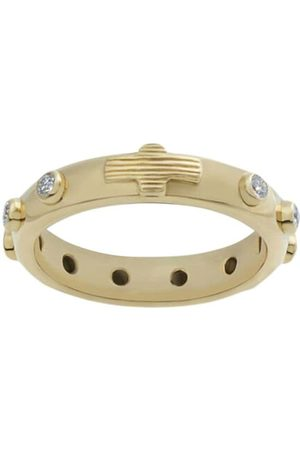 Dolce & Gabbana 18kt white gold Devotion diamond band