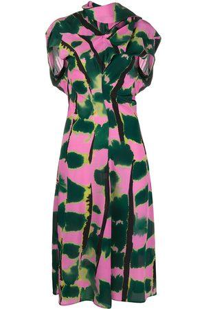 Colville Soufle scarf silk dress