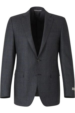 CANALI Suit with micro-dot and check motif