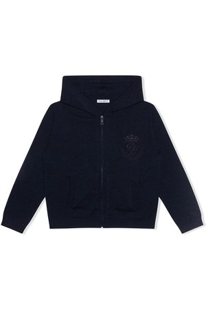 Dolce & Gabbana Cashmere zipped hoodie