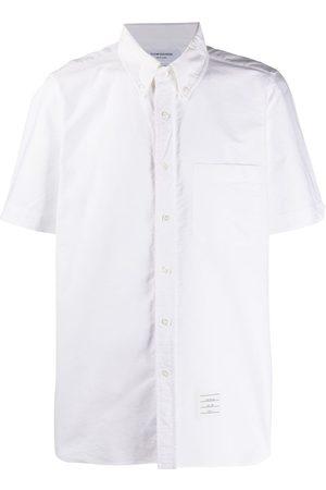 Thom Browne Short-sleeved Oxford shirt