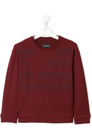 Emporio Armani Graphic-print crew-neck sweatshirt