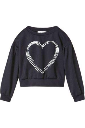 Twin-Set Short Sweatshirt Heart