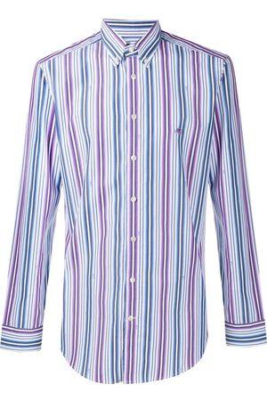 Etro Long sleeved stripe shirt