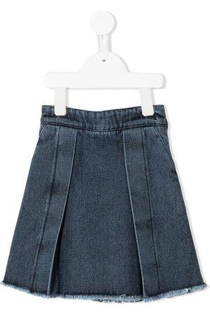 Le pandorine A-line denim skirt
