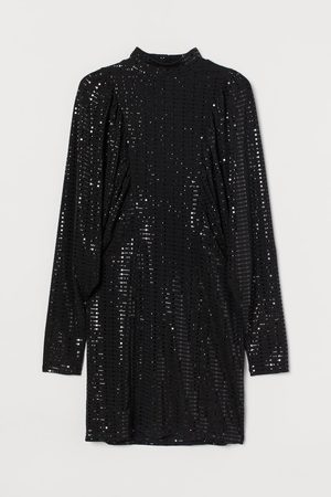 H&M Dames Jurken - Glanzende jurk