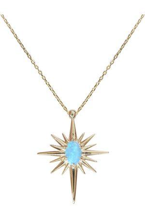 Christian Dames Kettingen met hanger - Gouden opaal ster hanger