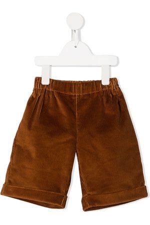 LA STUPENDERIA Jongens Bermuda's - Corduroy knee-length shorts