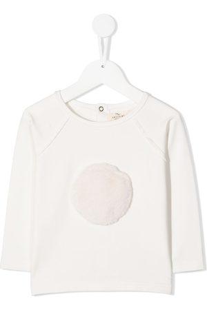Le pandorine Fur detail T-shirt