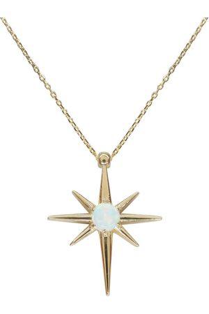 Christian Dames Kettingen met hanger - Opaal ster hanger