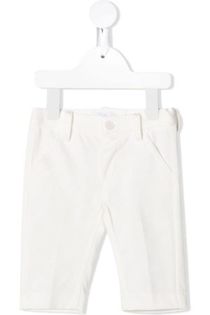 Il gufo Straight cotton chinos