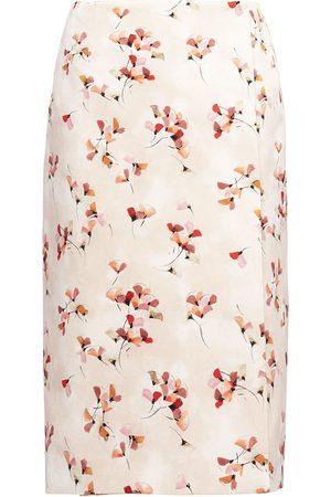 Prada Floral-print knee-length skirt