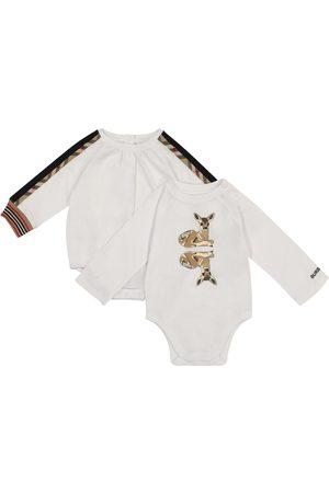 Burberry Meisjes Homewear - Set of two cotton bodysuits