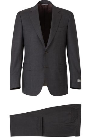 CANALI Micro-check suit