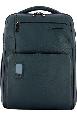 Piquadro Akron 15.6 Large PC Backpack with Rfid