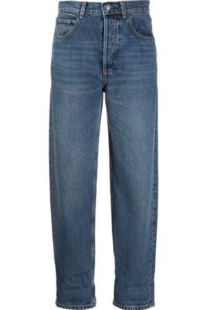 BOYISH DENIM High-waisted tapered jeans