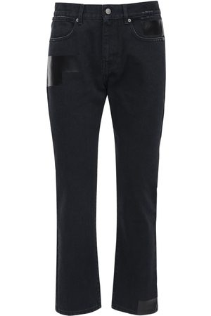 "McQ Heren Slim - ""foam"" Slim Fit Cotton Denim Jeans"