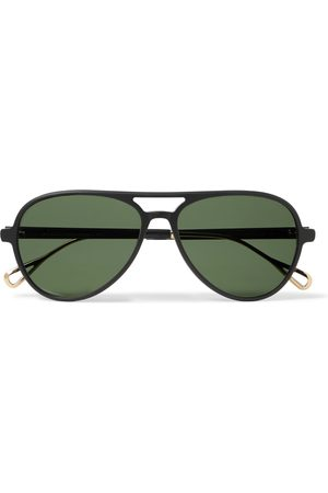 MOSCOT Aviator-Style Acetate and Gold-Tone Sunglasses
