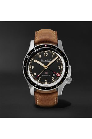 Bremont IonBird 43mm Automatic Chronometer Titanium and Nubuck Watch