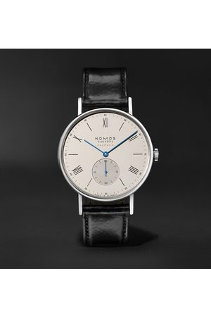Nomos Glashütte Heren Horloges - Ludwig Neomatik 39 Limited Edition Automatic 38.5mm Stainless Steel and Leather Watch, Ref. No. 250