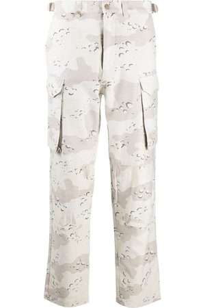 STAMPD Camouflage-print cargo trousers