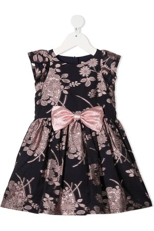 HUCKLEBONES LONDON Floral-jacquard sleeveless dress