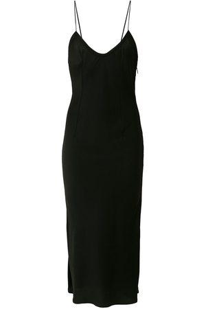 Saint Laurent Midi slip dress