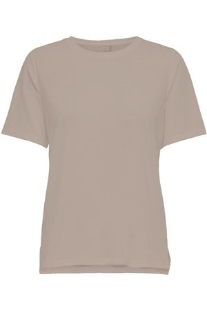 Only Loose Fitted Training Top Dames Beige