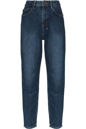Ksubi Stonewashed tapered fit jeans