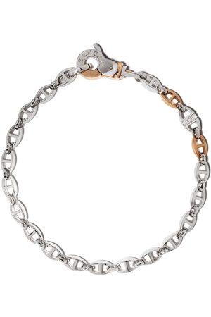 Zancan Logo-engraved chain-link bracelet