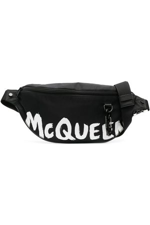 Alexander McQueen Logo print belt bag